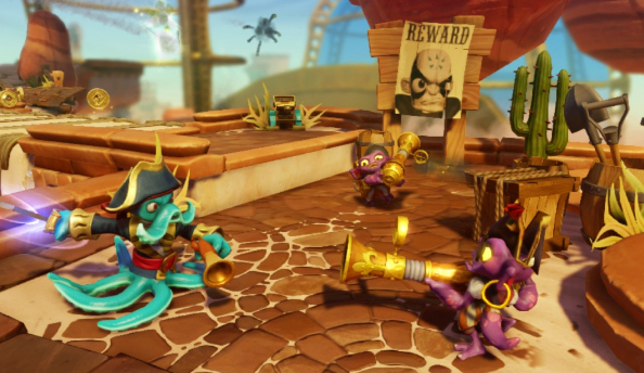 There will still be plenty of action in Skylanders Swap Force
