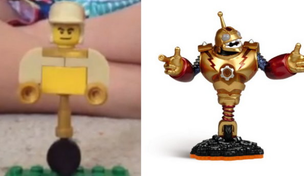 Skylanders Giants: How to make a Bouncer from LEGO!