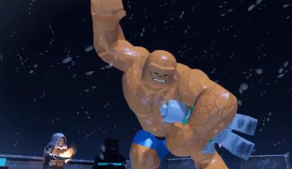 LEGO Marvel Super Heroes new trailer has Big Figures