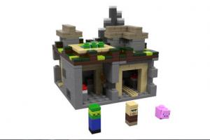 LEGO Minecraft The Village set