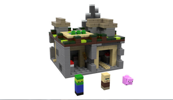 LEGO reveal Village and Nether Minecraft playsets