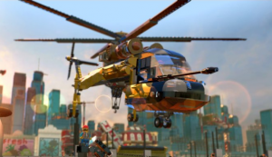 LEGO Movie game chopper