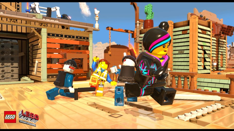The LEGO Movie Videogame trailer is built