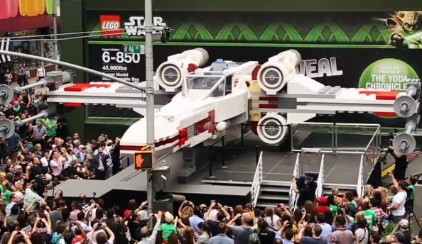 LEGO built a life-size X-Wing
