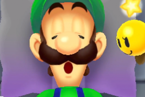 Pull Luigi's mustache, but don't wake him up!