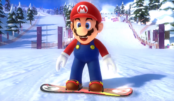 Mario Sonic At The Olympic Winter Games Gets A Cool Trailer