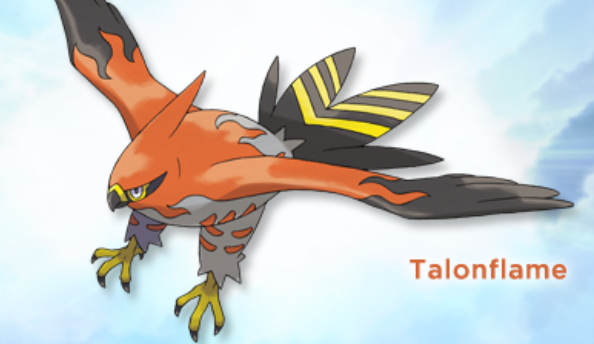 Talonflame revealed for Pokémon X and Y