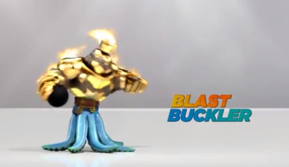 Blast Buckler Skylanders Swap Force