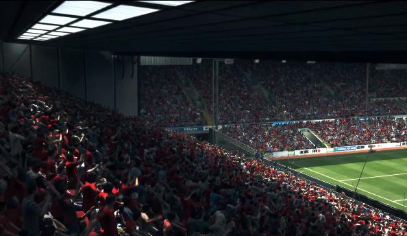 FIFA 14 crowds
