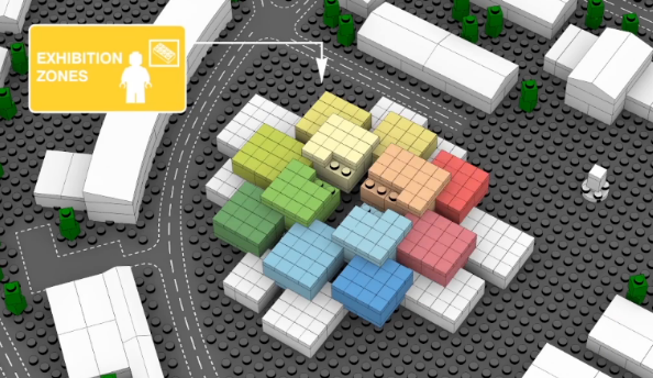 Awesome video shows what the LEGO museum will look like
