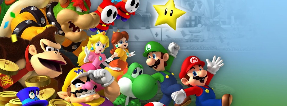 Mario-banner