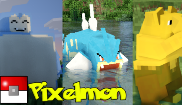 Pixelmon puts Pokémon in Minecraft