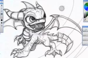 Skylanders drawing