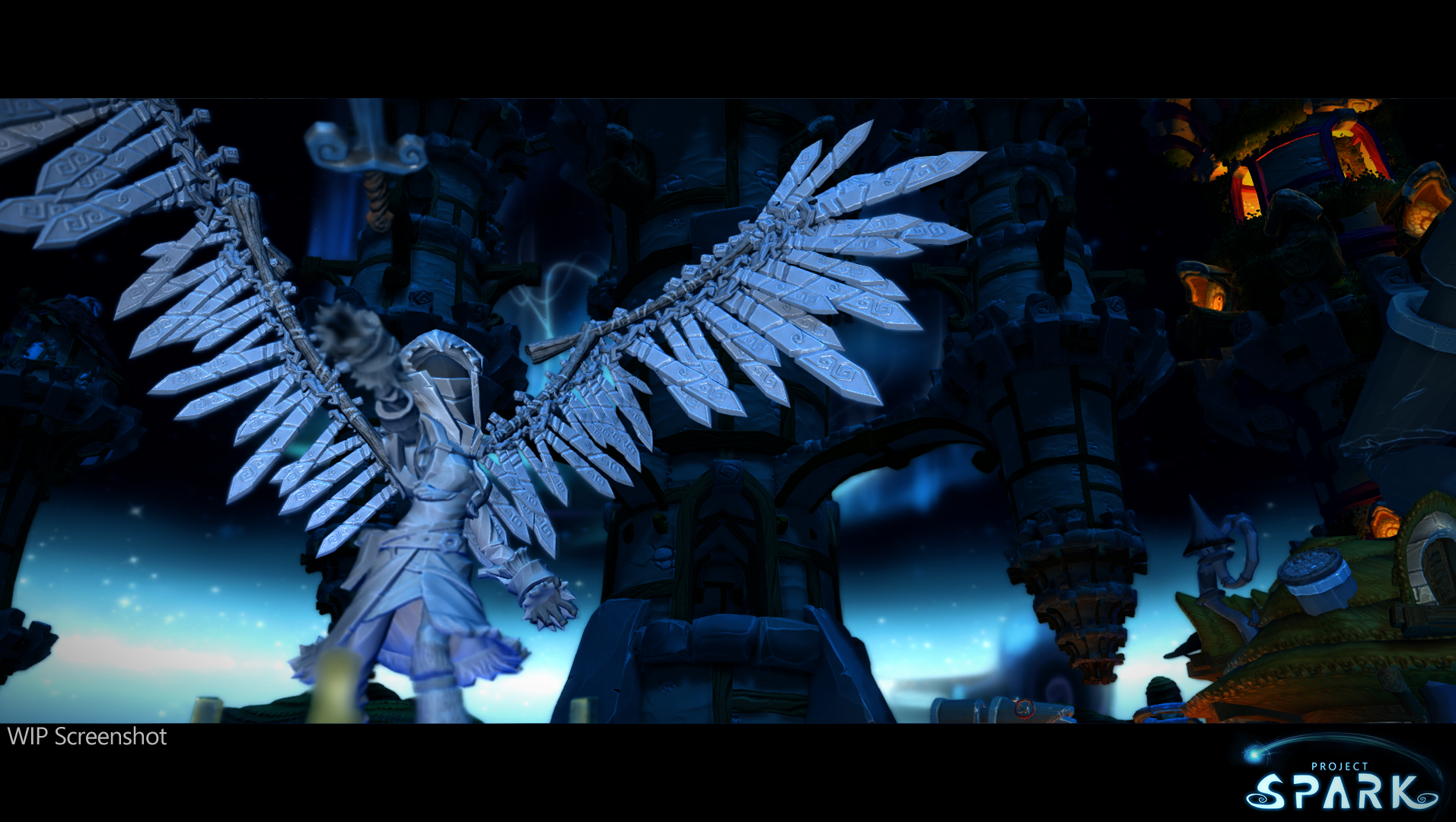 Project Spark trailer shows community made games