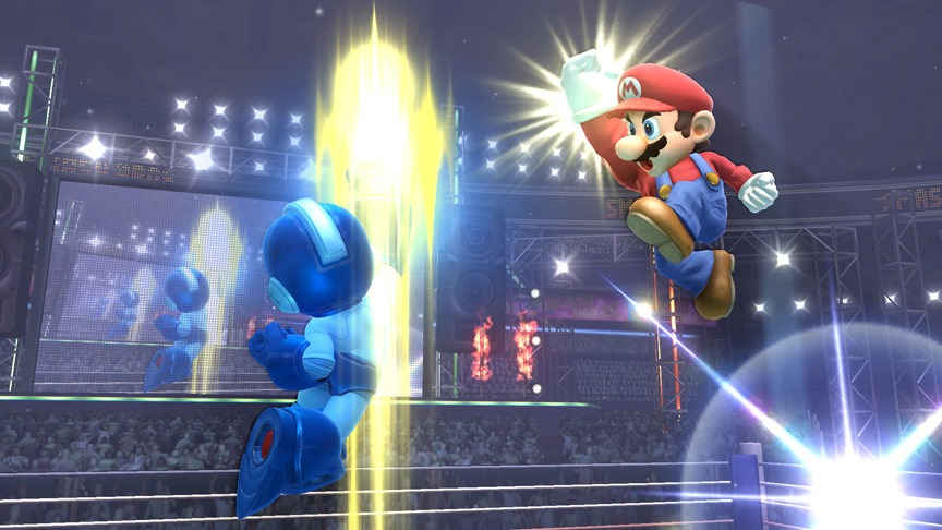 Super Smash Bros. WiiU and 3DS exciting new screenshots