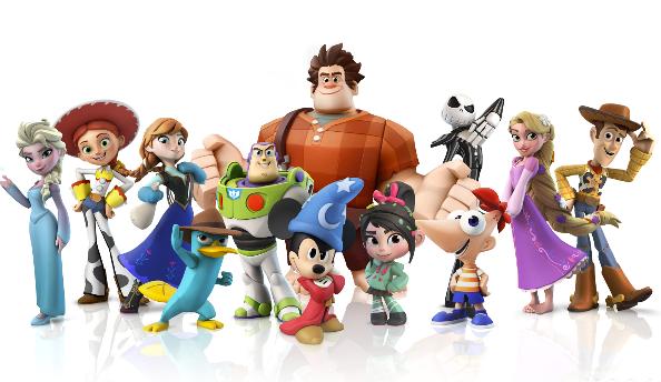 Disney Infinity new characters
