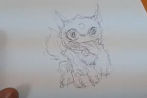 draw a skylander