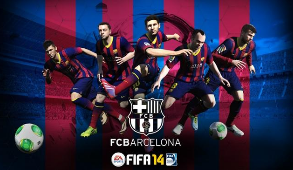 FIFA 14 scores FC Barcelona