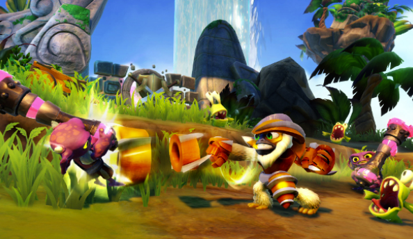 Skylanders Swap Force gameplay reveals Grilla Drilla