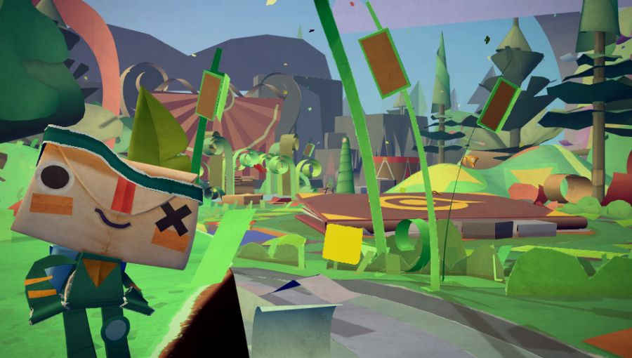 Tearaway trailer gets crafty on Vita