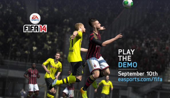 FIFA 14 demo now available on Xbox 360, PS3 and PC