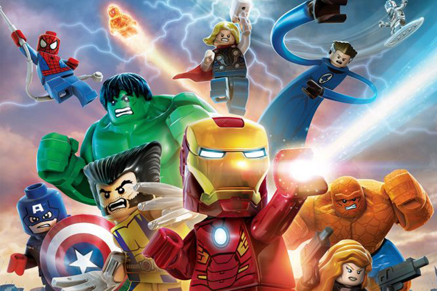 LEGO Marvel Super Heroes massive gameplay demo