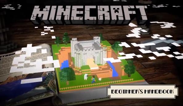 Minecraft Beginner's Handbook coming soon