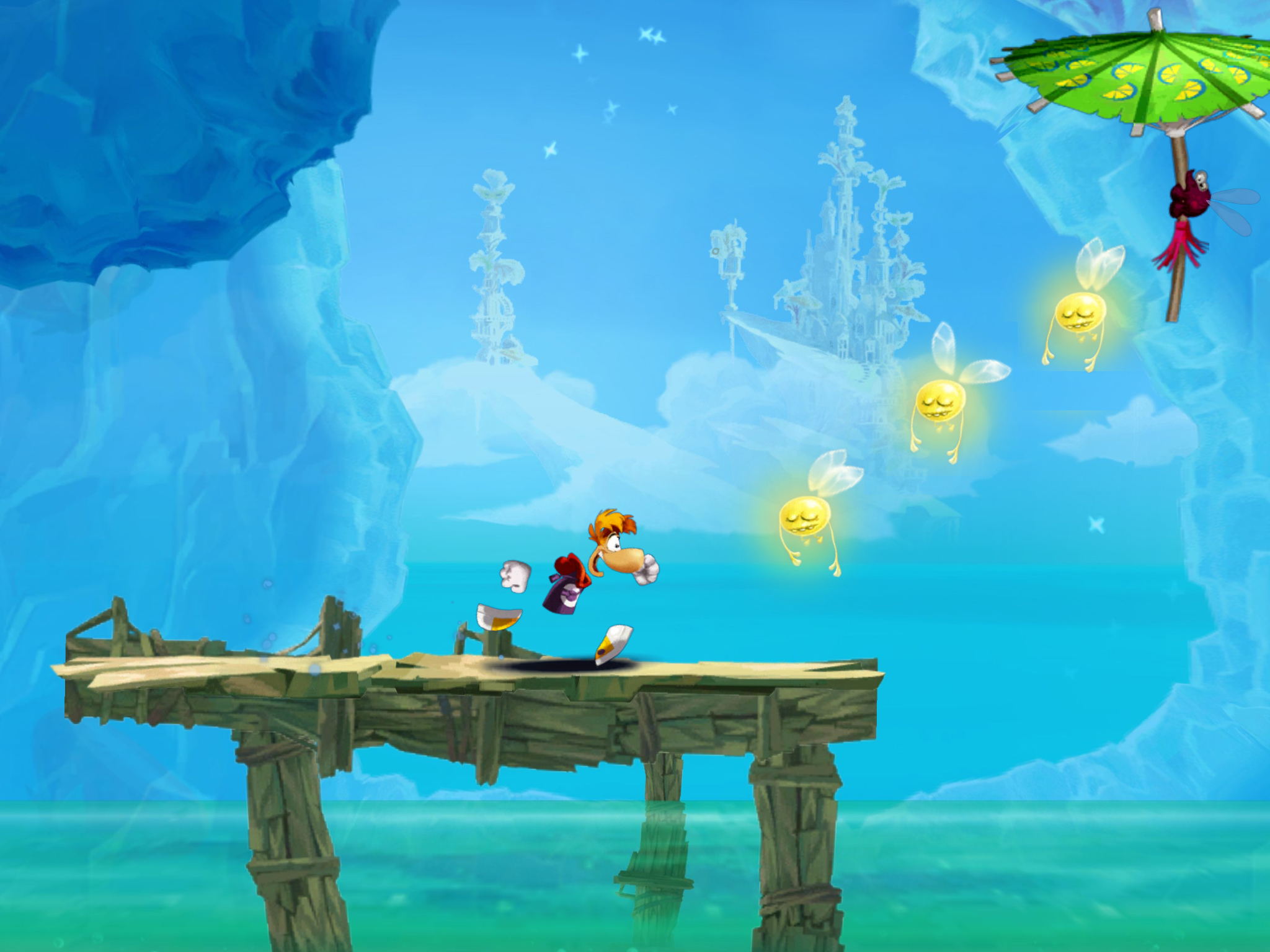 Rayman Fiesta Run sprinting to tablets and phones