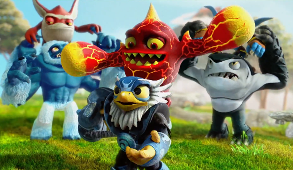 Skylanders Swap Force awesome new trailers show new toys