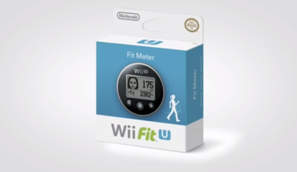 The Fit Meter will calculate how much exercise you do when you're away from your Wii U.
