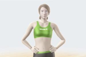 Wii U Fit trainer