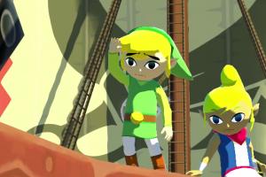 Zelda Wind Waker HD ship