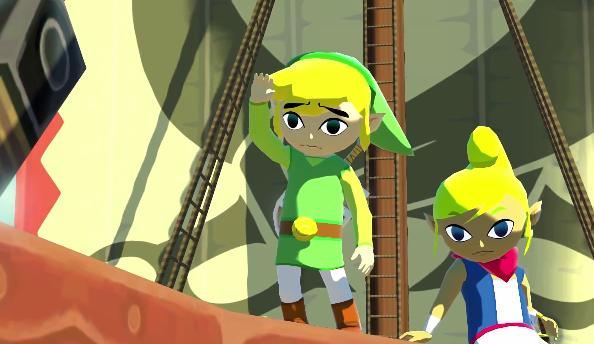 Zelda: Wind Waker HD trailer sets sail for Wii U
