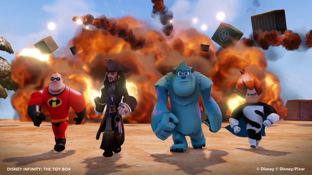 Disney Infinity trailer builds it high and knocks it down