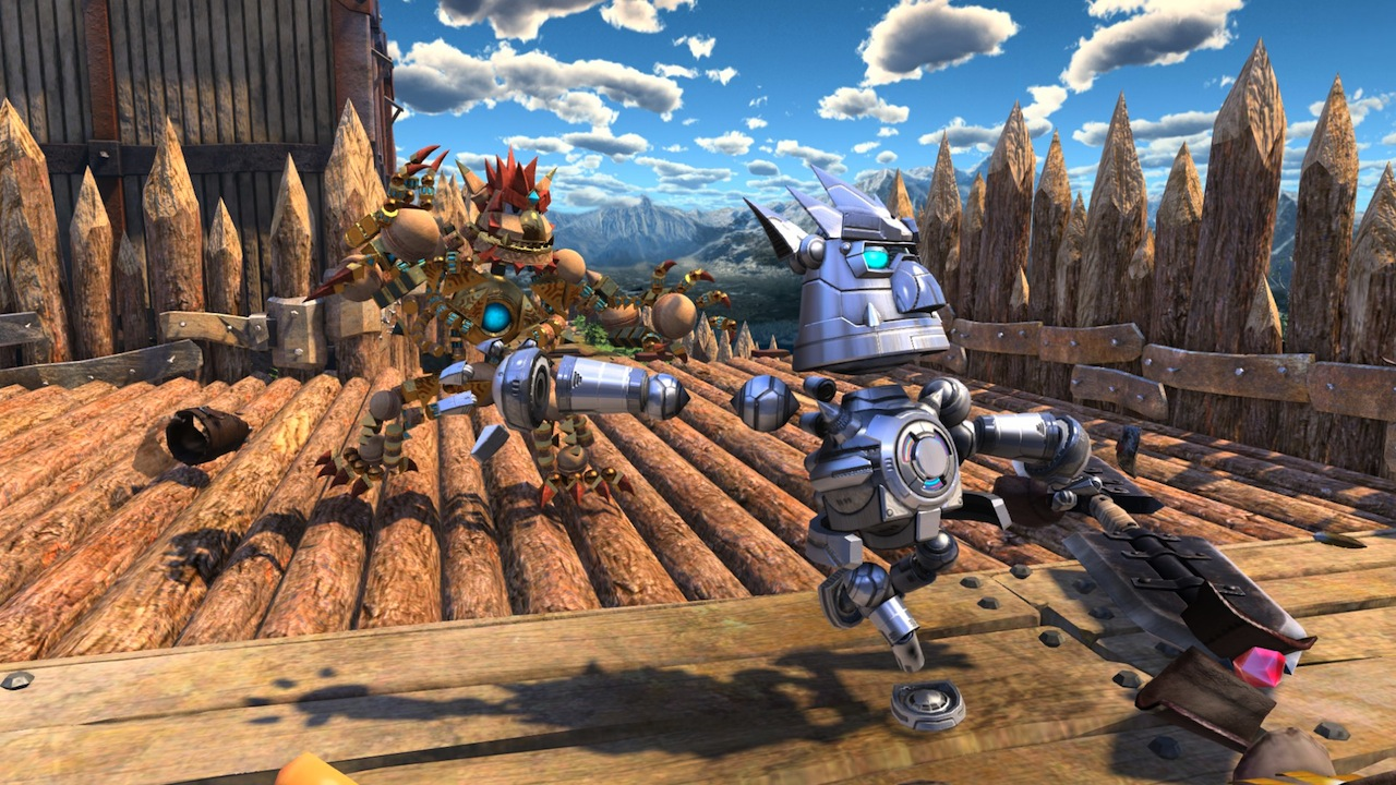 Knack screenshots show off local co-op on PlayStation 4