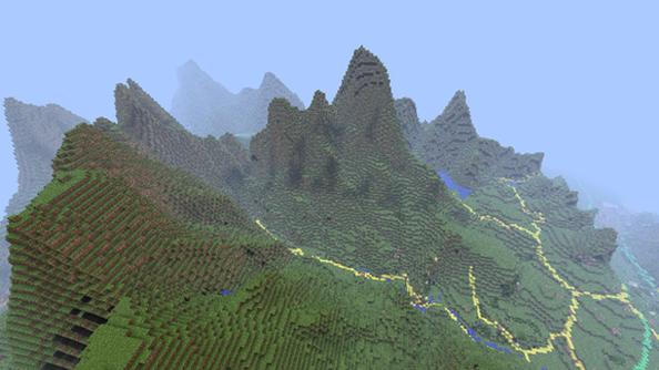 Great Britain recreated in Minecraft
