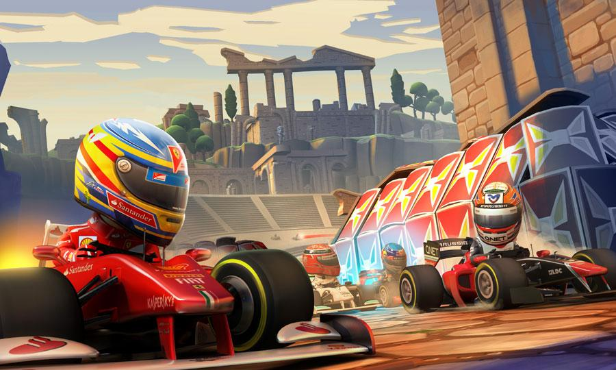 F1 Race Stars: Powered Up Edition zooming onto Wii U