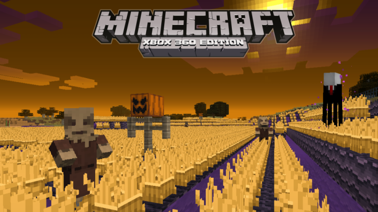 Halloween texture pack free on Minecraft Xbox