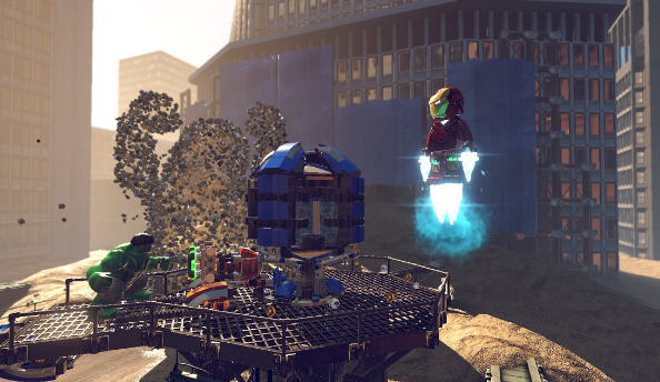 LEGO Marvel Super Heroes demo on PC, PS3 and Xbox 360