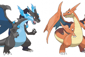 Mega Charizards