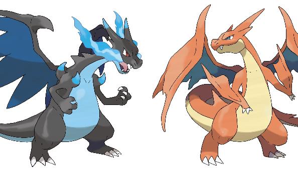 Pokémon X & Y Mega Charizards revealed