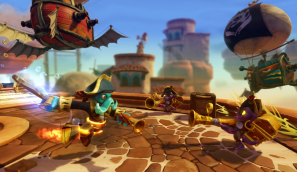 Skylanders: Swap Force gameplay video on Wii U