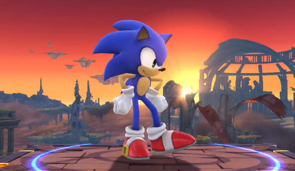 Super Smash Bros Wii U and 3DS introduces Sonic