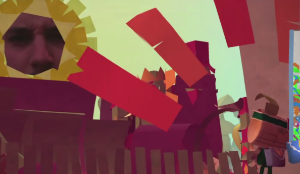 Tearaway trailer comes to life on PS Vita