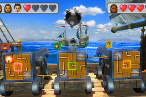 Wii U party cannons