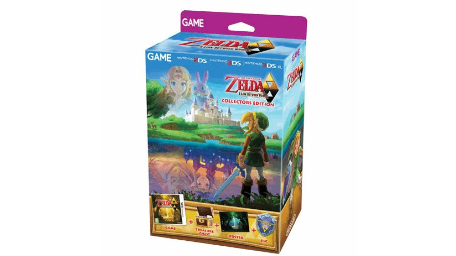 Zelda collectors edition