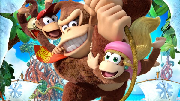 Donkey Kong Tropical Freeze trailer brings along Dixie