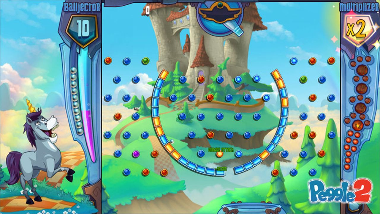 Peggle 2 introduces the Masters