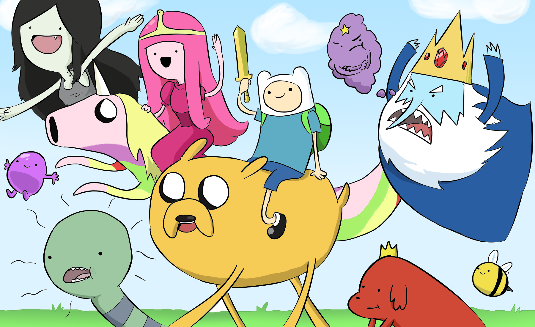 The Adventure Time game trailer is here!