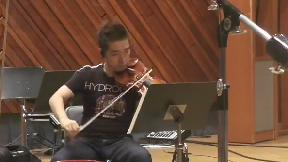 See the Super Mario orchestra make music